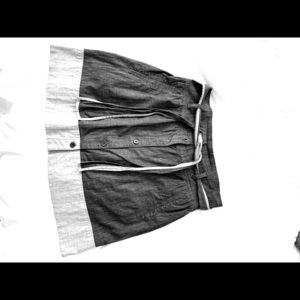 Gray Theory skirt